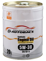 Моторное масло Autobacs Synthetic 5W-30 (20 л.) A00032063