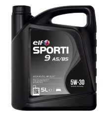 Моторное масло Elf Sporti 9 A5/B5 5W-30 (5 л.) 214250