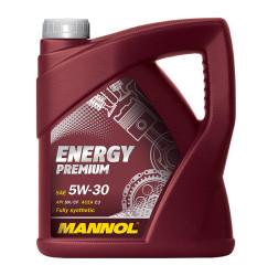 Моторное масло Mannol Energy Premium 5W-30 PAO (4 л.) 4007