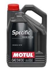 Моторное масло Motul Specific 504.00-507.00 5W-30 (5 л.) 106375
