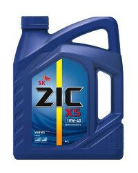 Моторное масло ZIC X5 10W-40 (4 л.) 162622