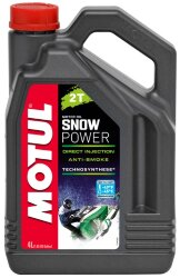 Масло двухтактное Motul SnowPower 2T (4 л.) 105888