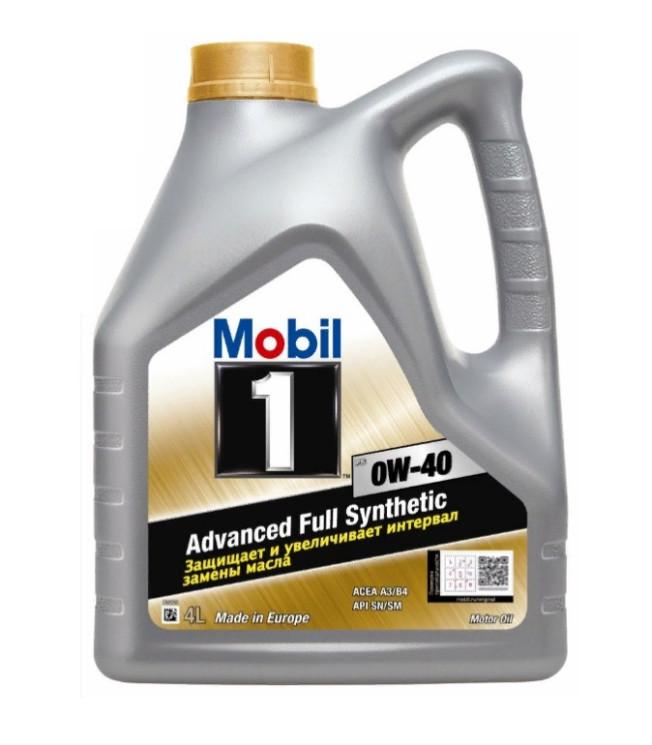 Моторное масло Mobil 1 FS 0W-40 (4 л.) 153692