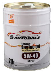 Моторное масло Autobacs Synthetic 5W-40 (20 л.) A00032067