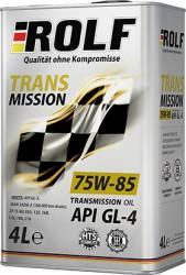 Трансмиссионное масло Rolf Transmission 75W-85 (4 л.) 322289