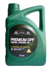 Моторное масло Hyundai (Kia) Premium DPF Diesel 5W-30 (6 л.) 05200-00620