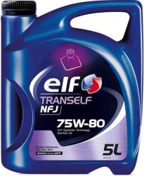Трансмиссионное масло Elf Tranself NFJ 75W-80 (5 л.) 194756