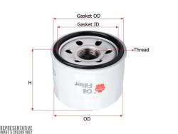 Фильтр масляный Sakura C1041