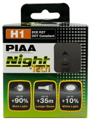 Автолампа PIAA Bulb Night Tech H1 3600K HE-822-H1