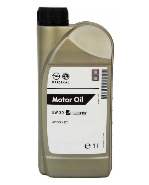 Моторное масло GM Dexos1 Gen2 5W-30 (1 л.) 95599919 (EC)