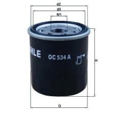 Масляный фильтр Mahle-Knecht OC534A