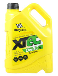 Моторное масло Bardahl XTEC 0W-20 V (5 л.) 36813