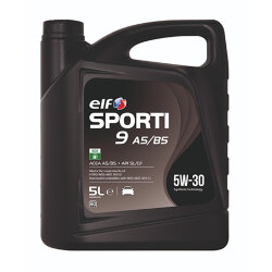 Моторное масло Elf Sporti 9 A5/B5 5W-30 (5 л.) 208418