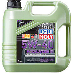 Моторное масло Liqui Moly Molygen New Generation 5W-40 (4 л.) 9054