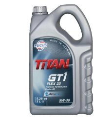 Моторное масло Fuchs Titan GT1 FLEX 23 5W-30 (5 л.) 0004721002