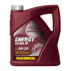 Моторное масло Mannol Energy Ultra JP 5W-20 (4 л.) 4001