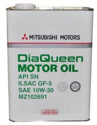 Моторное масло Mitsubishi Motor Oil 10W-30 (4 л.) MZ102691
