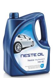 Моторное масло Neste City Standart 5W-40 (4 л.) 044145