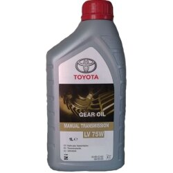 Трансмиссионное масло Toyota Manual Transmission Gear Oil LV 75W (1 л.) 08885-81001