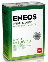 Моторное масло Eneos Premium Diesel 10W-40 CJ-4 (4 л.) 8809478943008