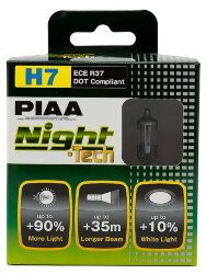 Автолампа PIAA Bulb Night Tech H7 3600K HE-823-H7