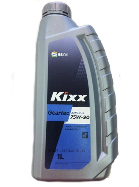 Трансмиссионное масло Kixx Geartec GL-5 75W-90 (1 л.) L2962AL1E1