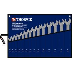 Набор ключей Thorvik 10-32 мм., 14 предметов CWS0014