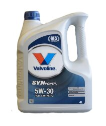 Моторное масло Valvoline Synpower Full Synthetic 5W-30 (4 л.) 872378