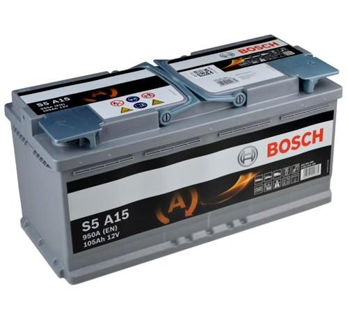 Аккумулятор Bosch S5A 12V 105Ah 950A 0092S5A150