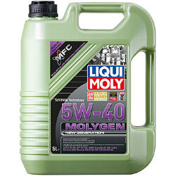 Моторное масло Liqui Moly Molygen New Generation 5W-40 (5 л.) 9055