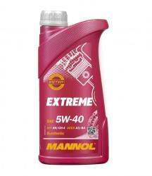Моторное масло Mannol Extreme 5W-40 (1 л.) 1020