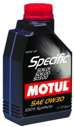 Моторное масло Motul Specific 506.01/506.00/503.00 0W-30 (1 л.) 106429