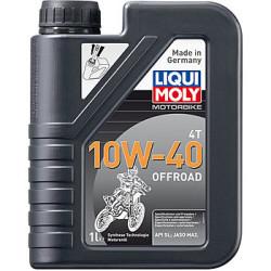Масло четырехтактное Liqui Moly Motorbike 4T Offroad 10W-40 (1 л.) 3055