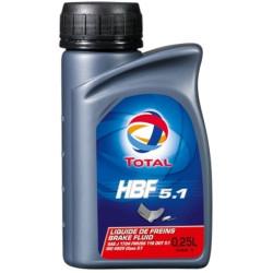 Тормозная жидкость Total HBF 5.1 (0,25 л.) 181943