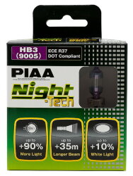 Автолампа PIAA Bulb Night Tech HB3 3600K HE-825-HB3
