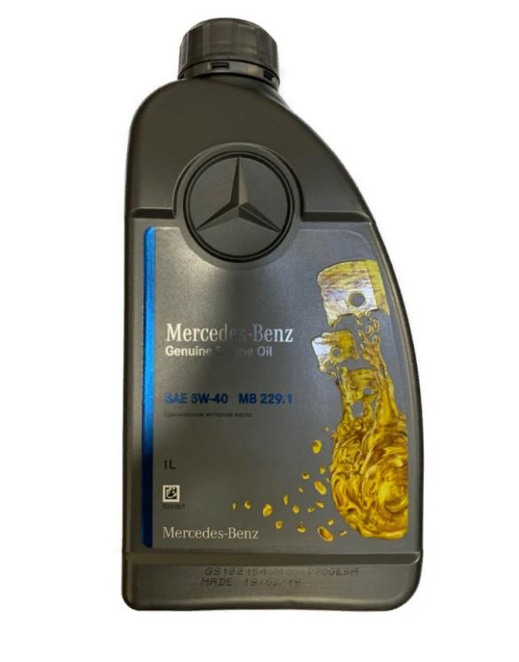 Моторное масло Mercedes MB229.1 5W-40 (1 л.) A000989730211BGFR