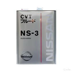 Трансмиссионное масло Nissan NS-3 (4 л.) KLE53-00004
