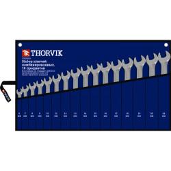 Набор ключей Thorvik 6-24 мм., 16 предметов CWS0016