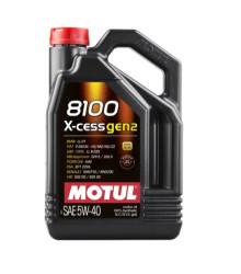Моторное масло Motul 8100 X-Cess gen2 5W-40 (5 л.) 109776