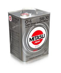 Моторное масло Mitasu MJ-220 Super Diesel CI-4 5W-30 (6 л.) MJ2206