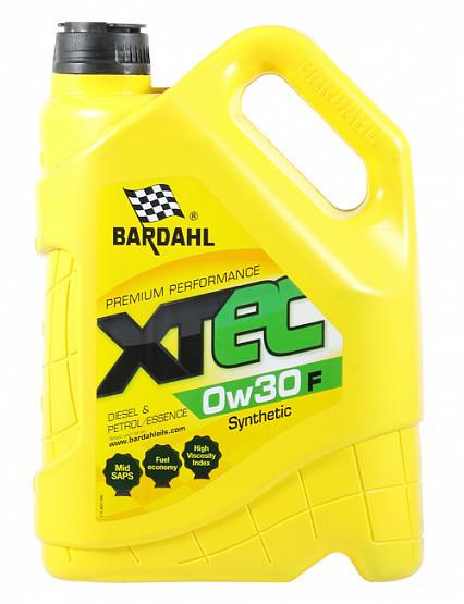 Моторное масло Bardahl XTEC 0W-30 F (5 л.) 36853