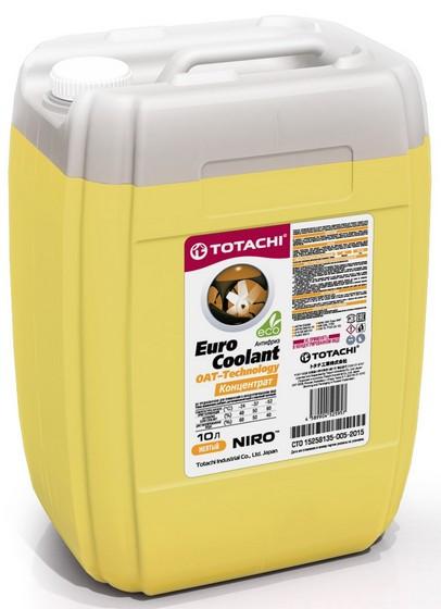 Охлаждающая жидкость Totachi Niro Euro Coolant OAT-Technology (10 л.) 4589904525957