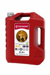 Моторное масло Totachi DENTO Eco Gasoline 5W-30 (4 л.) 4589904528255