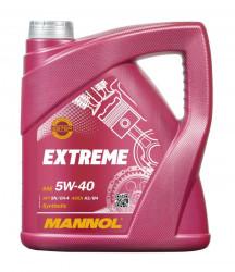 Моторное масло Mannol Extreme 5W-40 (4 л.) 1021
