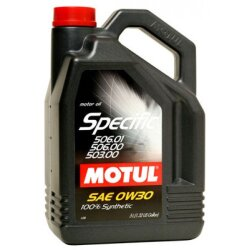 Моторное масло Motul Specific 506.01/506.00/503.00 0W-30 (5 л.) 101171