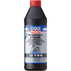 Трансмиссионное масло Liqui Moly Hochleistungs-Getriebeoil 75W-90 (1 л.) 3979