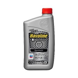 Моторное масло Chevron Havoline Synthetic Motor Oil 5W-20 (1 л.) 076568796440