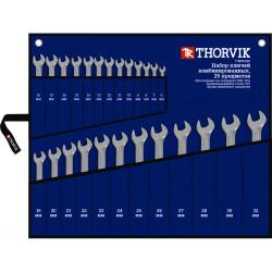 Набор ключей Thorvik 6-32 мм., 25 предметов CWS0025