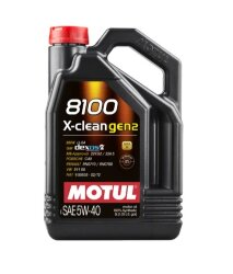 Моторное масло Motul 8100 X-Clean gen2 5W-40 (5 л.) 109762