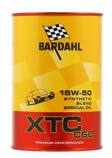Моторное масло Bardahl XTC C60 15W-50 (1 л.) 324040